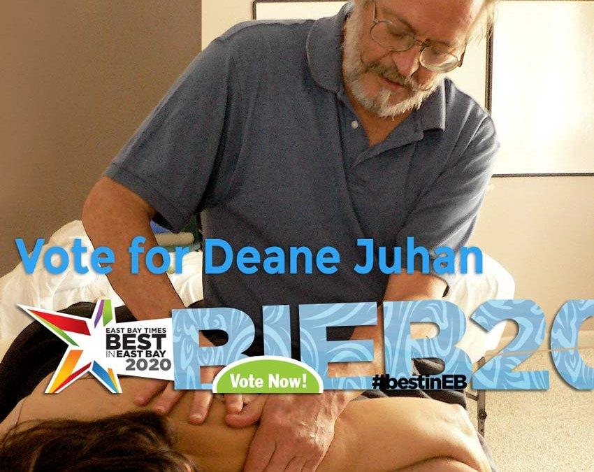 Vote for Deane Juhan