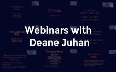 Webinars with Deane Juhan